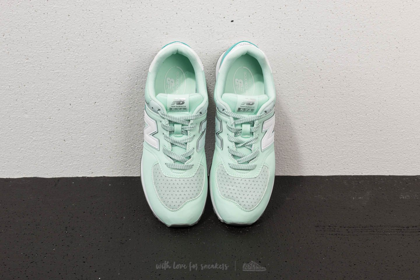 New Balance 574 Pastel Green | Footshop