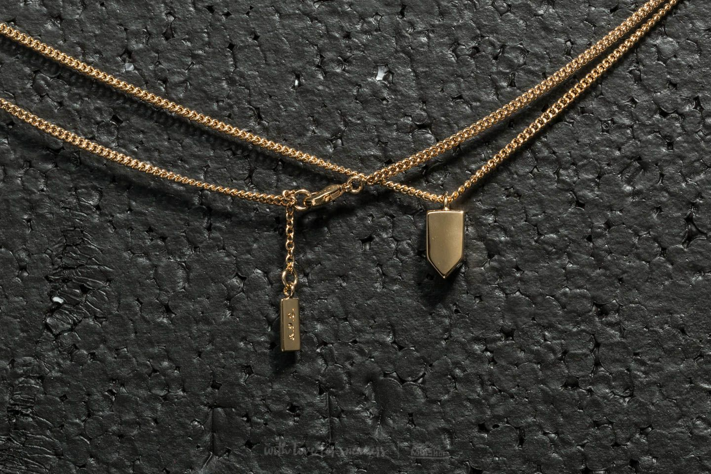 fwrd in gold serge a of apc necklace image p c product