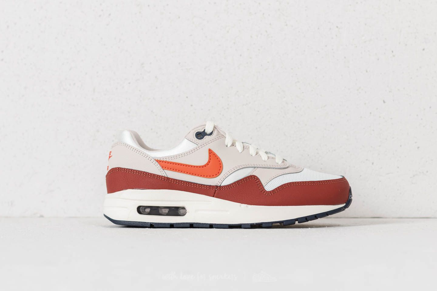 Nike Air Max 1 (GS) Sail/ Vintage Coral/ Mars Stone at a