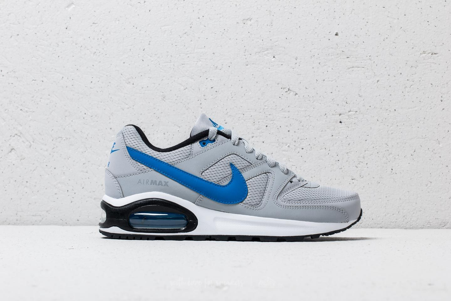 Nike Air Max Command Flex (GS) Wolf Grey/ Signal Blue-Black at