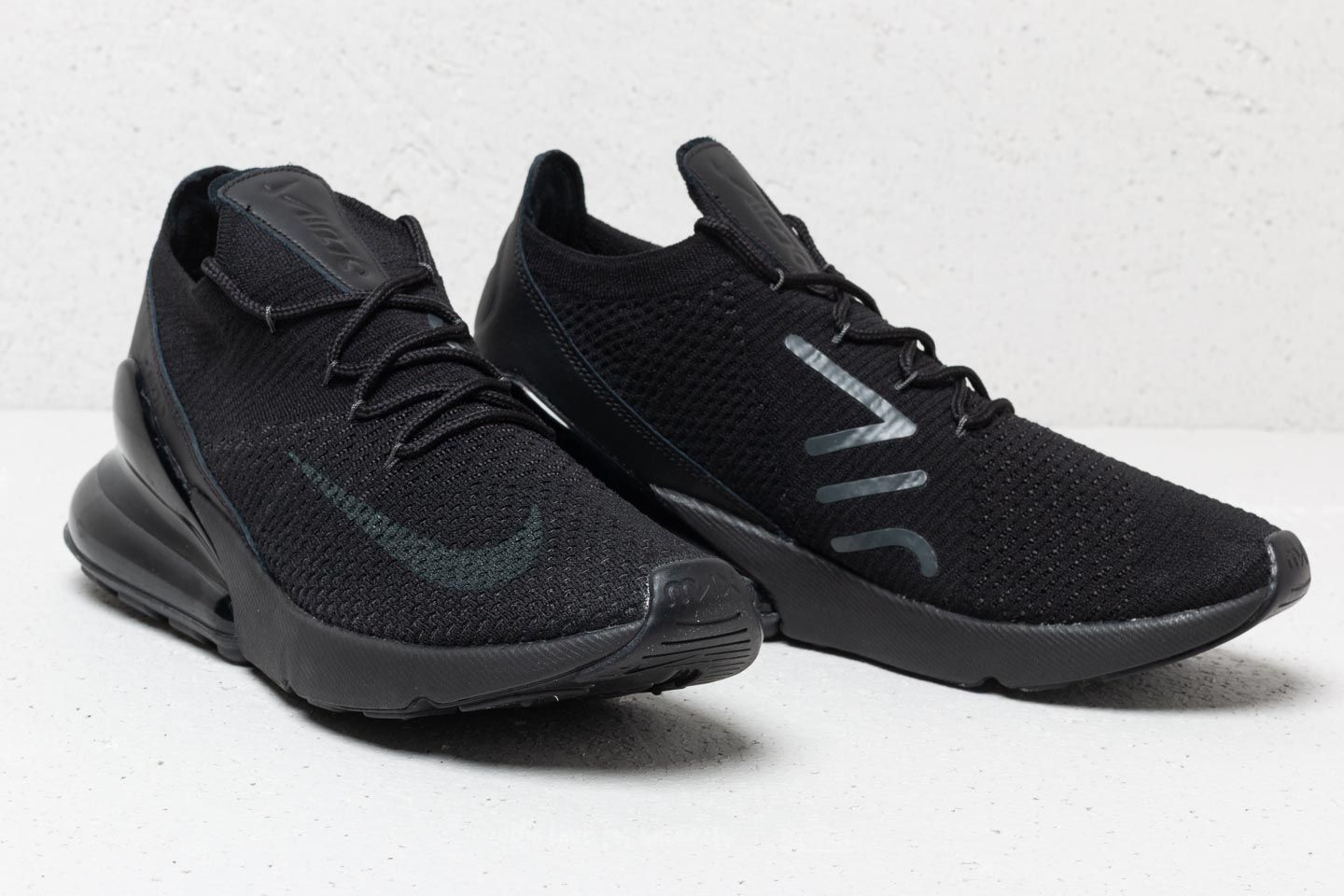 Buy nike air max 270 flyknit triple black   up to 38% Discounts 5f4b275ef