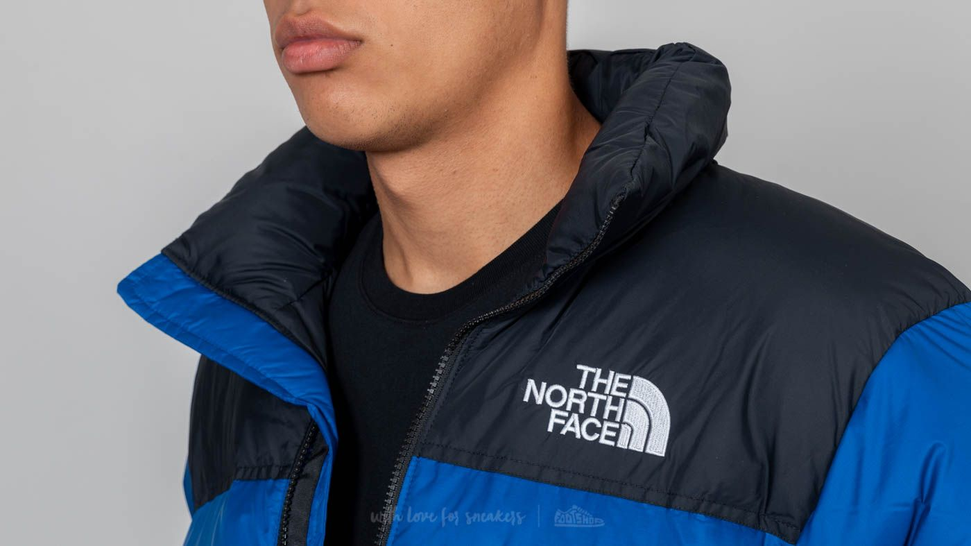 ... black 1 e14aa 0e4b6 cheap the north face m 1996 retro nuptse jacket  aztec blue at a great price 193 ... 65c540ef5