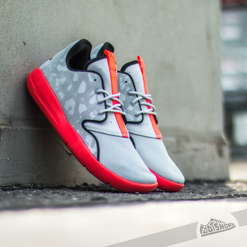 Jordan Eclipse Wolf Grey/Black/Cool Grey/Infrared 23