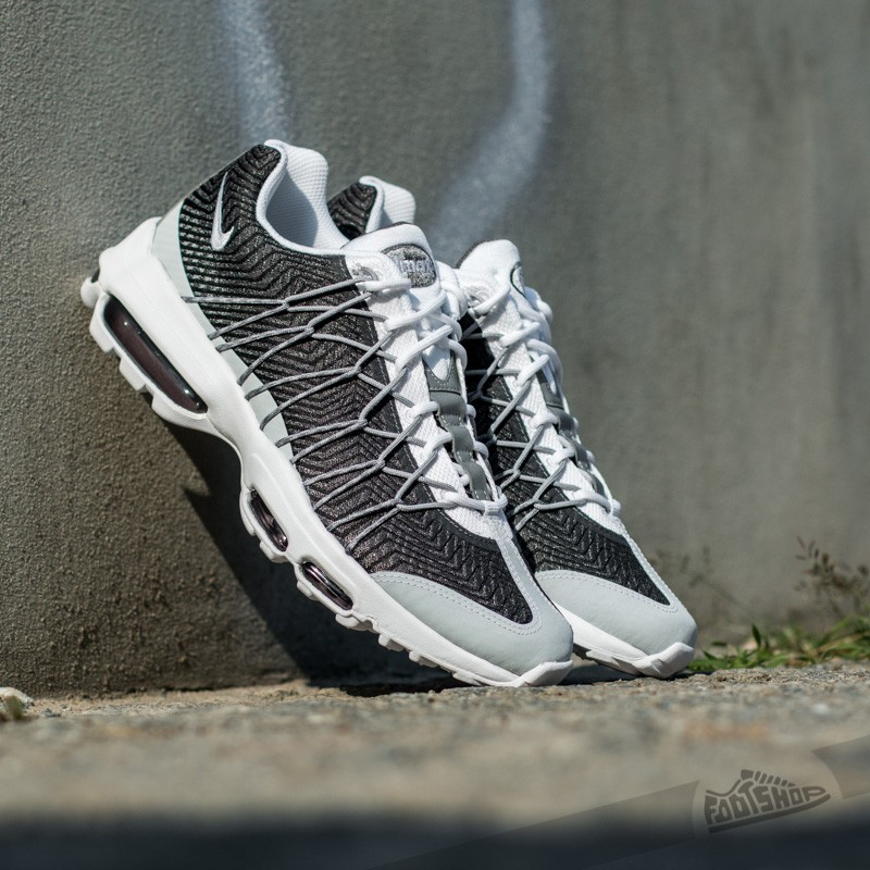 nike air max 95 ultra jacquard - white/wolf grey/dark grey