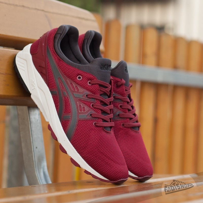 Asics Gel Kayano Trainer Evo Burgundy/ Dark Grey