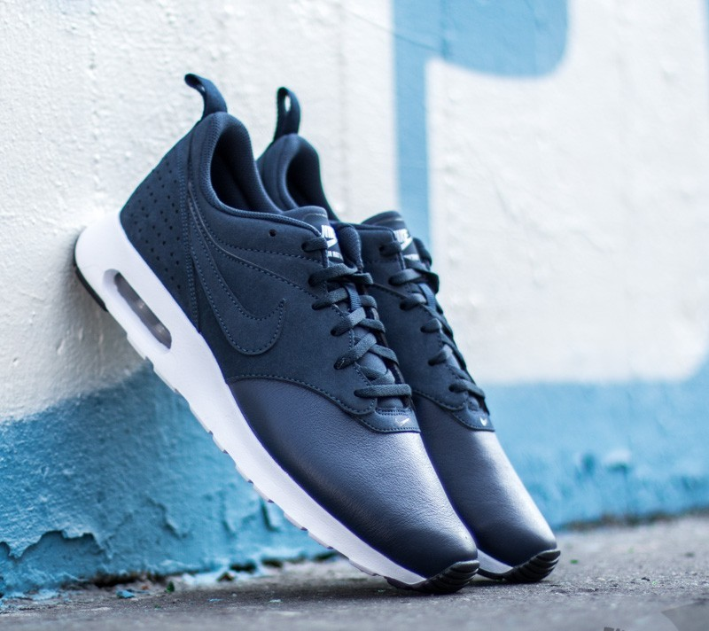 pretty nice ebe4a 7388a ... coupon code for nike air max tavas leather obsidian wolf grey black  white 1089a 8087a