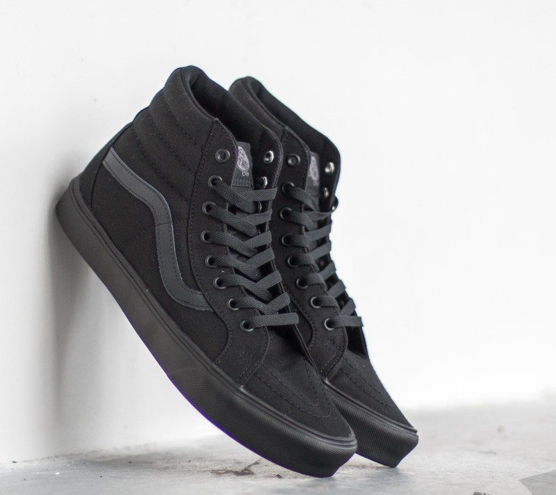 vans sk8 black/black