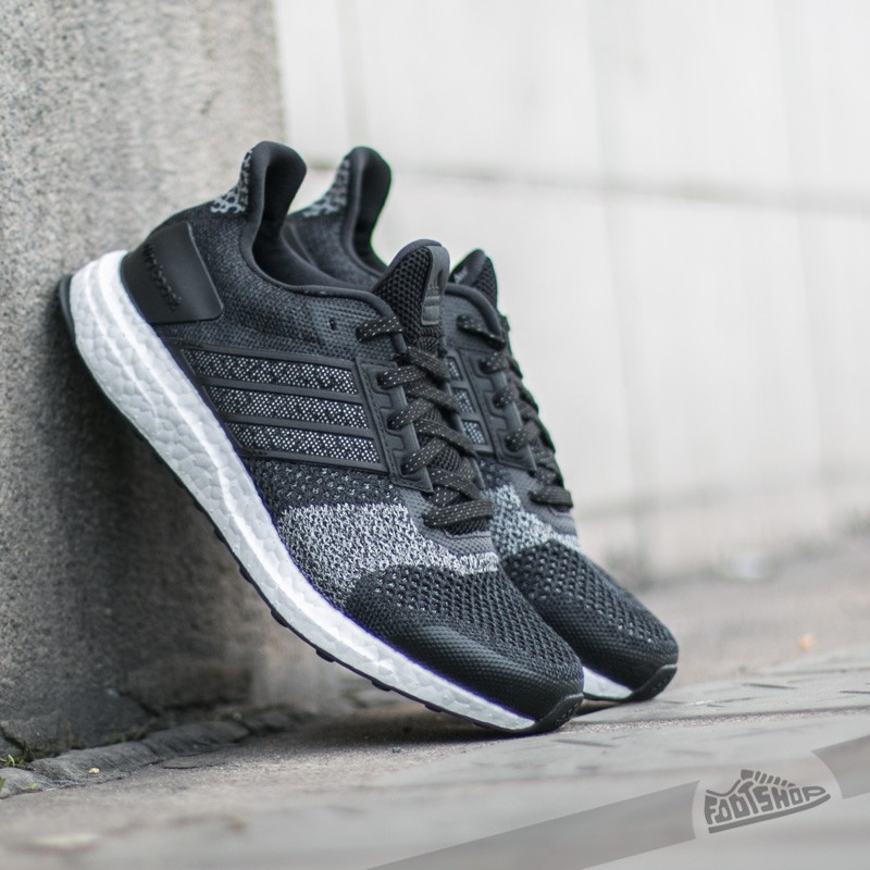 adidas Ultra Boost ST Glow W Black/ White