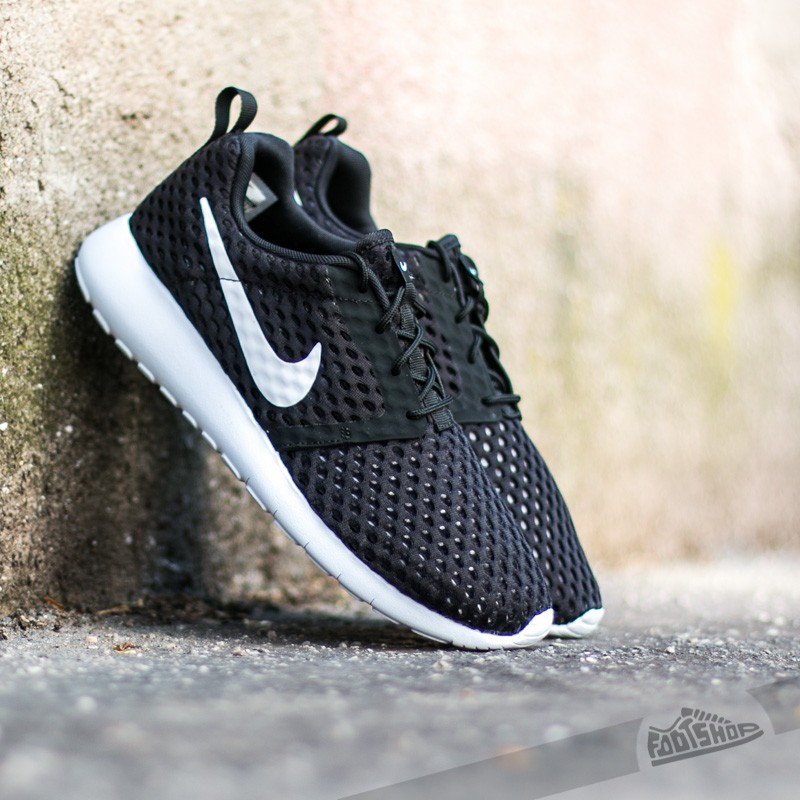 Nike ROSHE ONE FLIGHT WEIGHT (GS) Negro hxfR1