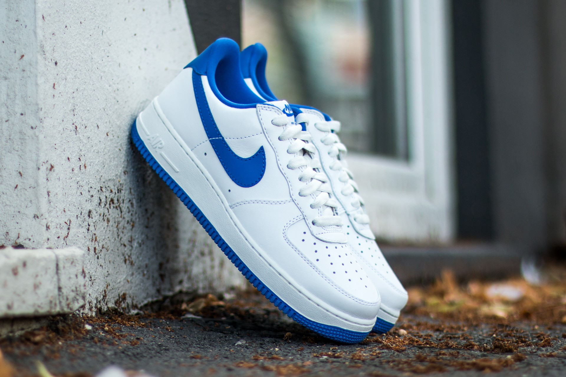 Nike Air Force 1 Low Retro Summit White/ Game Royal