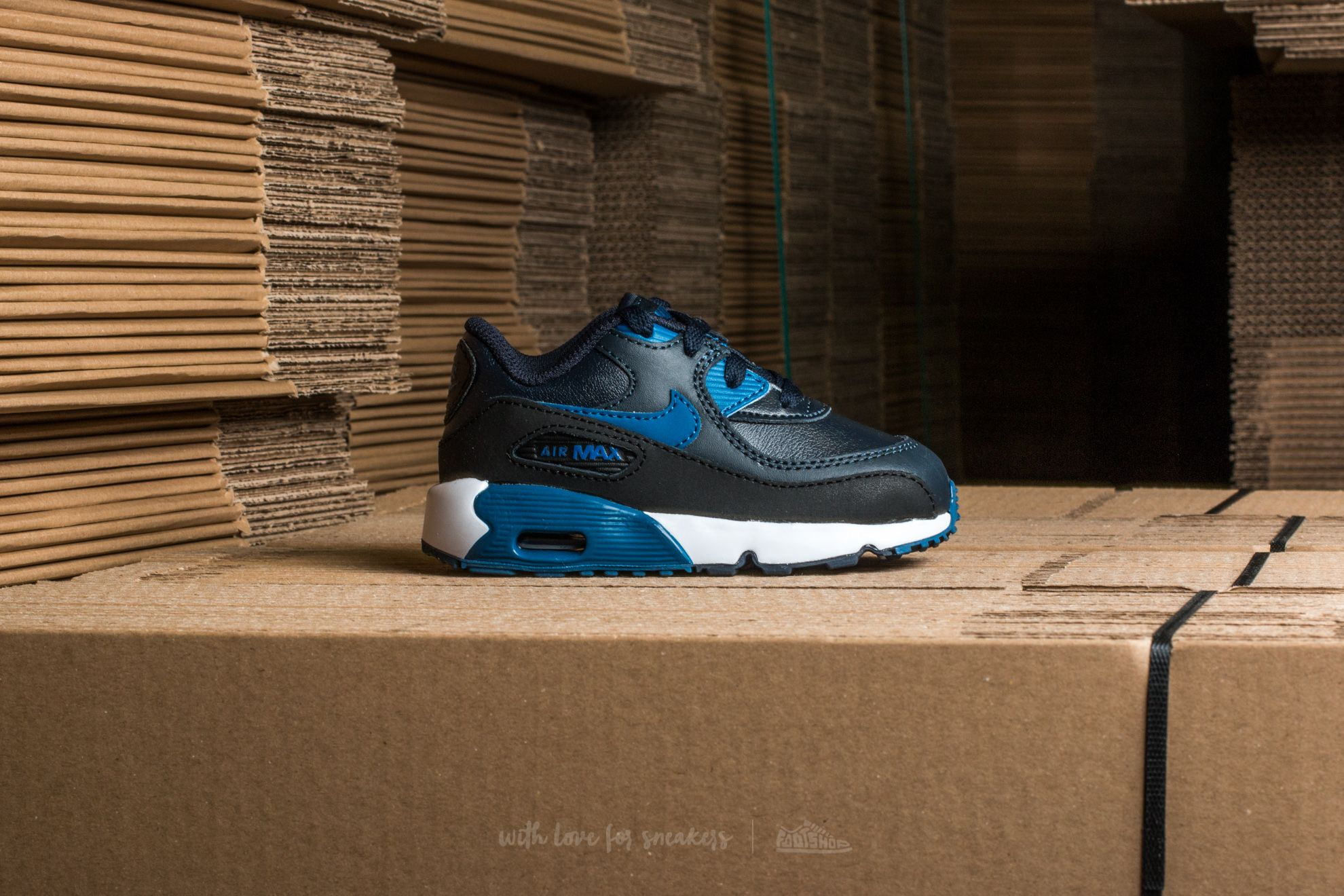 Nike Air Tribunal Max 90 Leather Td Dark Obsidian  Tribunal Air Footshop Azul Negro 4f92c7